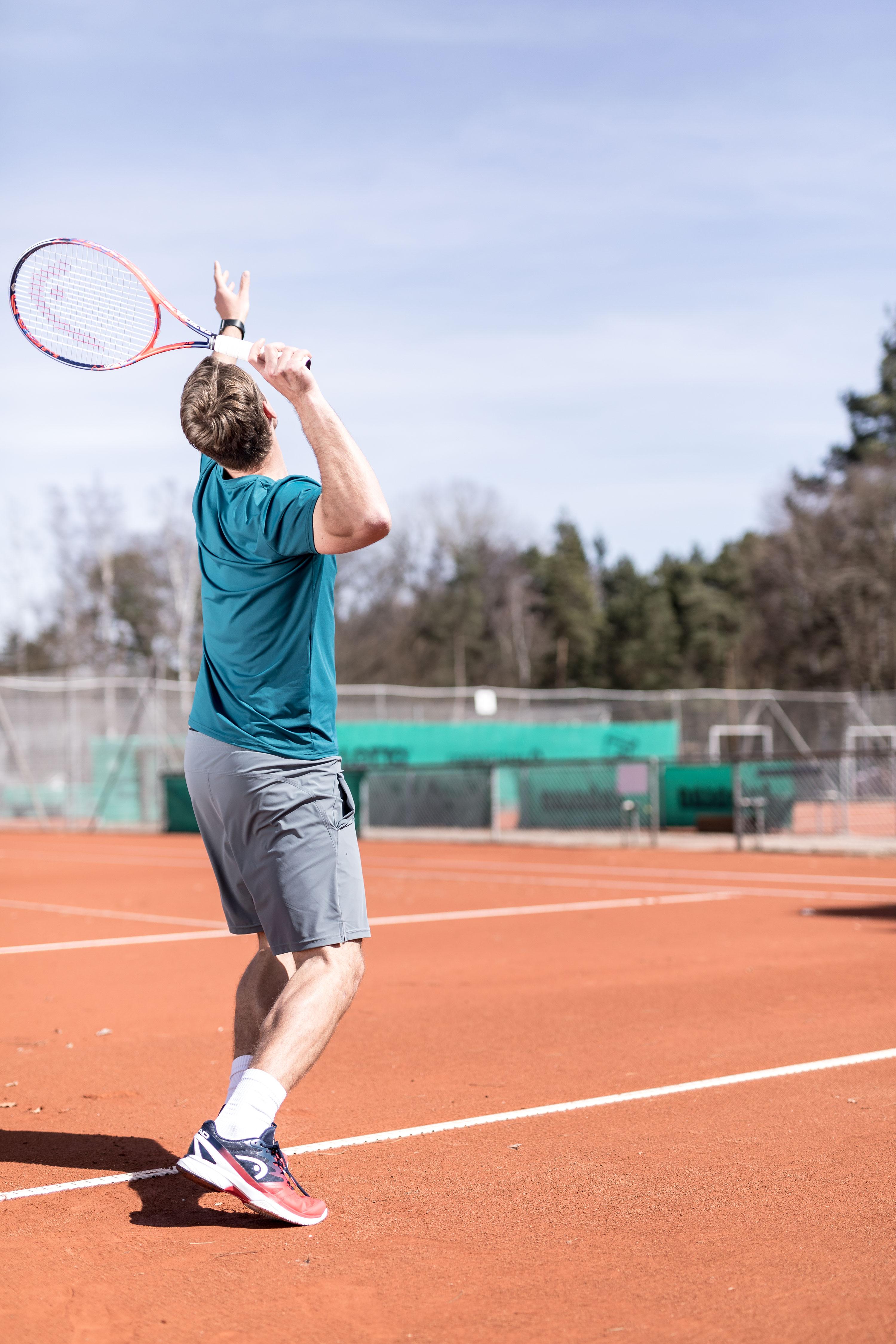 Tennisspieler aus anderen Tennisspielen